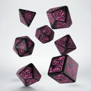 Dice Set Call of Cthulhu 7th Edition Black & Magenta - Q-Workshop